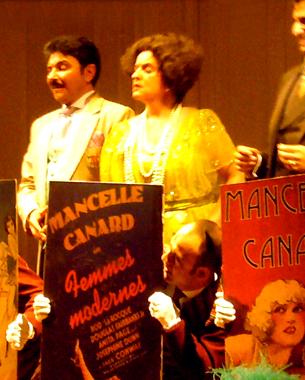 Opérette de Amadeus Vives mise en scène par Emiglio Sagi. Théâtre du Chatelet